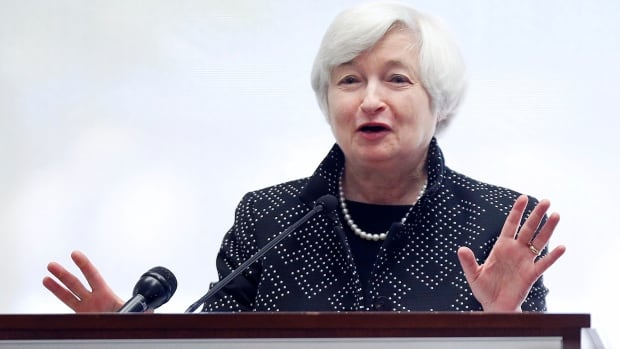 Federal Reserve Chair Janet Yellen will give an update on the U.S. economy along with a rate announcement on Wednesday.
