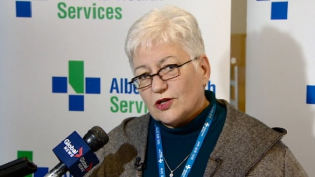 AHS president and CEO Vickie Kaminski says Sonic Healthcare will be able to provide testing that is currently sent out of the province.