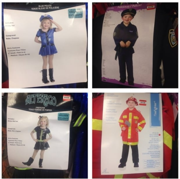 Sexy Halloween costumes marketed to kids - girl and boy versions