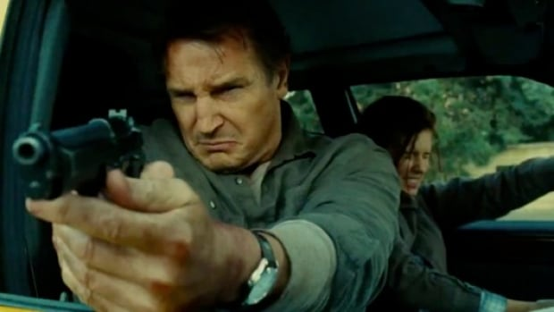 Irish actor Liam Neeson, who plays trigger-happy ex-CIA operative Bryan Mills in the Taken trilogy, has angered an American gun maker with his comments on U.S. gun control.