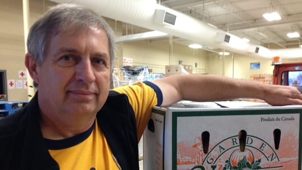 Volker Kromm, the executive director of the Regional Food Distribution Association in Thunder Bay, is delivering fresh food to First Nations in northwestern Ontario.