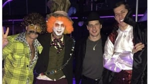 Sidney Crosby dresses up as Rocky Balboa for Halloween