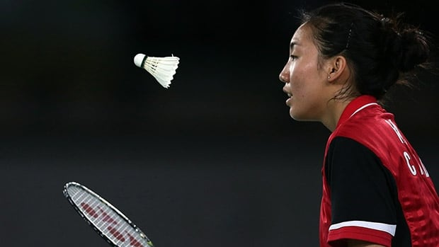 Michelle Li won singles gold at the Commonwealth Games in Glasgow this summer, becoming the first Canadian female badminton player to accomplish the feat.