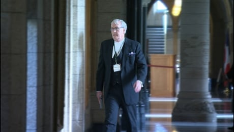 Sgt.-at-Arms Kevin Vickers