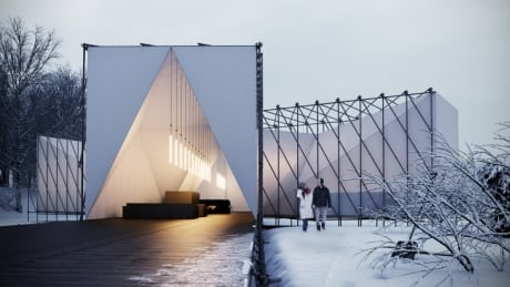 New design revealed for on-ice restaurant in Winnipeg