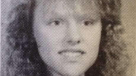Andrea Giesbrecht - 1992 yearbook photo