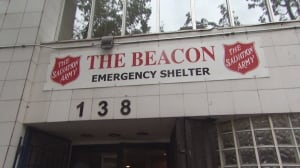 Salvation Army Beacon shelter in Vancouver's Downtown Eastside