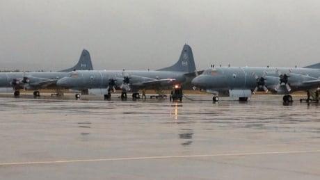 Planes prepare for deployment.