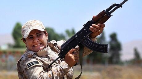 Turkey Syria Frontline Women