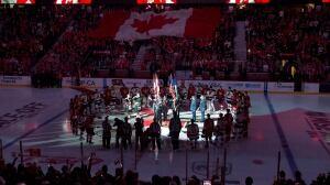 Senators, Canadiens, Leafs pay tribute in pre-game ceremonies