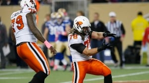 B.C. Lions clinch playoff berth with 28-23 win over Blue Bombers