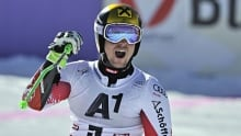 Marcel Hirscher wins World Cup giant slalom event