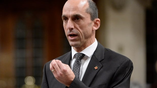 Public Safety Minister Stephen Blaney was in question period Monday in the House of Commons and later tabled legislation to change the CSIS Act.