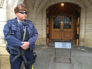 RCMP on Parliament Hill