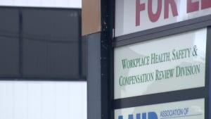 The Workplace Health, Safety and Compensation Review Division (WHSCRD) building CBC