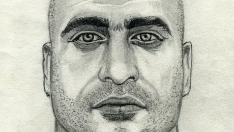 East Vancouver sexual assault and stabbing suspect sketch
