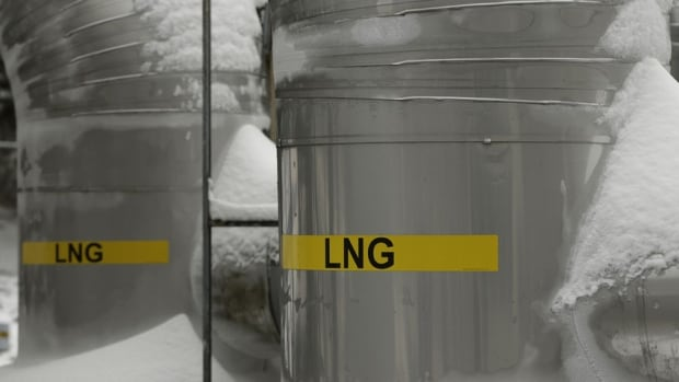 Transfer lines in an LNG terminal in Lusby, Maryland. BG Group has delayed its Prince Rupert, B.C., LNG project.