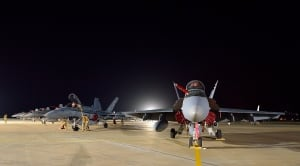 CF-18s in Kuwait for Operation IMPACT