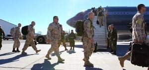 Troops depart for anti-ISIS mission
