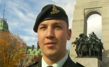 Riley Hryniuk 3rd Field Regiment RCA shootings one week later National War Memorial Oct 29 2014