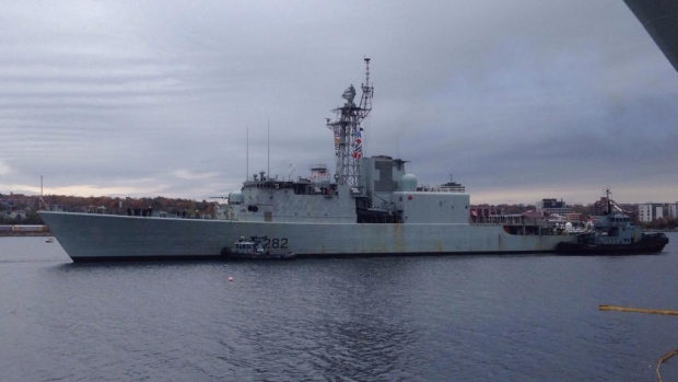 The last of Canada's seaworthy destroyers, HMCS Athabaskan, shipped out to a show-of-force NATO exercise in the Mediterranean earlier this month. But it almost didn't make it: this summer it was sent back to dock for extensive repairs, including a cracked hull.