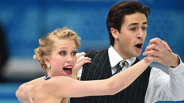 World silver medallists Kaitlyn Weaver, left, and Andrew Poje are the pick to win the dance event at Skate Canada.