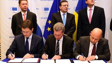 Ukraine, Russia gas deal