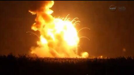 WIP SPACE-ORBITAL NASA explosion Oct 28