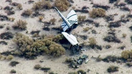Virgin Galactic SpaceShipTwo Oct 31