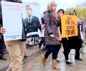 Hamilton Muslim Cirillo Solidarity March