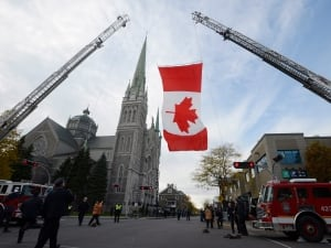 Quebec Shooting Soldier Funeral 20141101