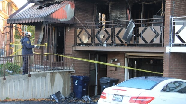 An elderly couple died as a result of a fire that broke out in the kitchen area of their Etobicoke home on Sunday, Nov. 2, 2014.