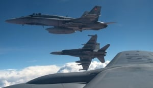 Canadian CF-18s ISIS Iraq