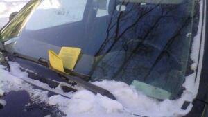 parking tickets winter