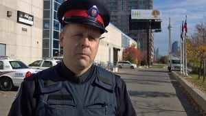 Toronto police Const. Clint Stibbe