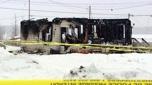 Three people, including two children, were killed when a fire ripped through this house on God's Lake Narrows First Nation in March 2011.