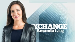 Amanda Lang Exchange with smile