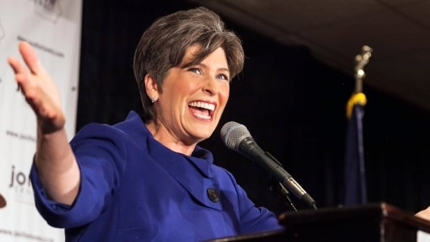 """Republican Senator Joni Ernst, who bragged in election ads about castrating hogs as a young farm girl, said she can be relied upon to """"cut pork"""" once elected. In victory, she happily announced she intends to """"make them squeal"""" when she arrives in the Capitol."""