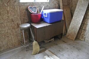 Darlene Necan cabin interior