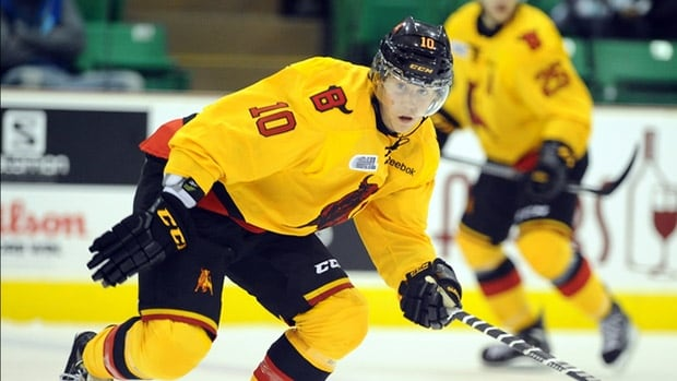 "Belleville Bulls forward Jake Marchcment said in a statement that his comments were ""inappropriate"" and ""disrespectful."""