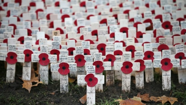 Check out our list to find a Remembrance Day service in your area. (Peter Macdiarmid/Getty Images)