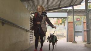 New Westminster dog owner Margaret Halsey
