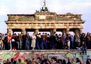 Brandenburg Gate (then)