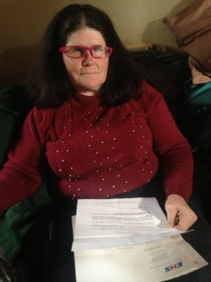 Colleen Hopkins disabled woman