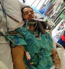 Mathieu Trudel crash induced coma Cummings Bridge Oct. 30 2014
