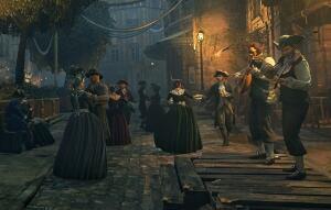 Assassin's Creed Unity night life