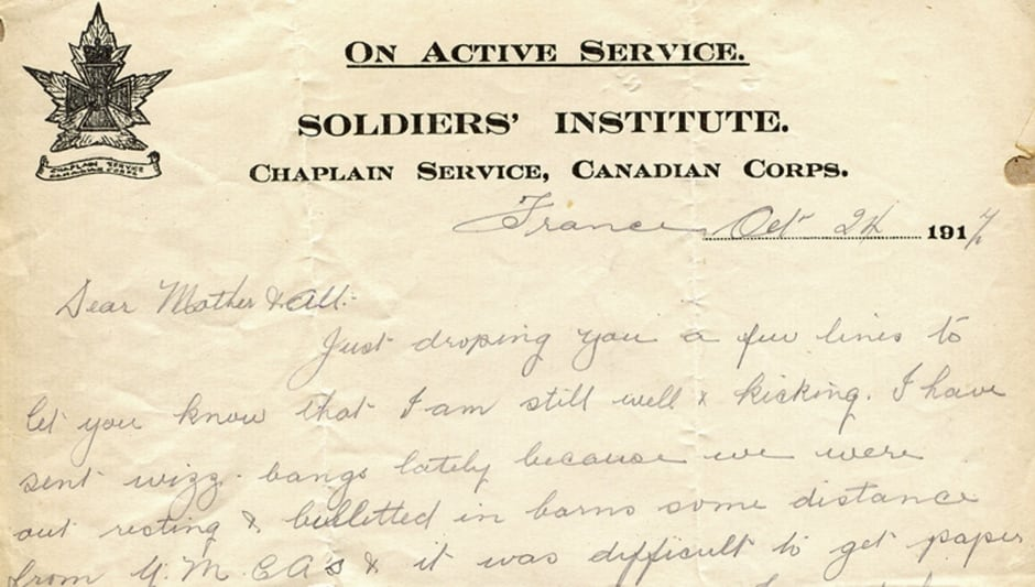 what to write in a letter to a soldier The heartbreaking collection of last letters to loved ones last letters from the front line collates 70 letters from soldiers who i am writing this on the.