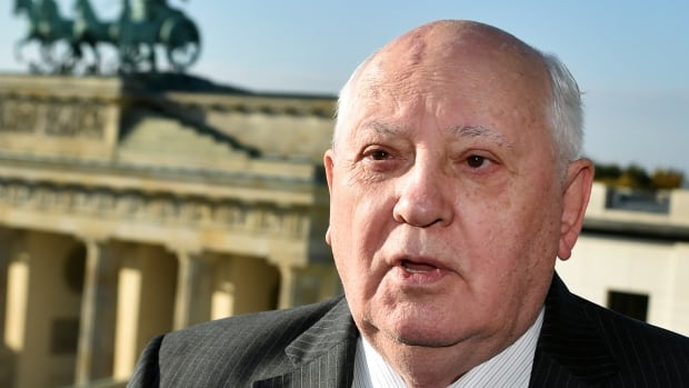 Former Soviet leader Mikhail Gorbachev, 83, cautions the world may already have entered a 'new Cold War.'