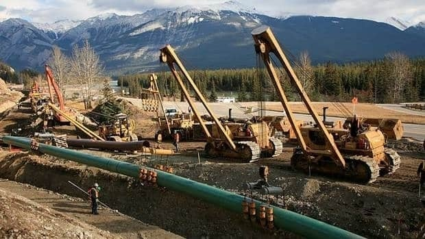 Kinder Morgan's proposed $5.4 billion expansion of the Trans Mountain pipeline would triple the capacity of the existing pipeline to carry crude oil and other products from Edmonton to Burnaby, B.C..
