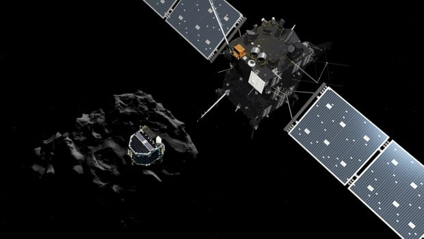 The European Space Agency's Rosetta space probe closely examined the type of comet that some scientists theorized could have brought water to our planet 4 billion years ago.